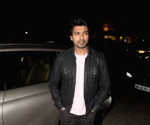 Nikhil Dwivedi at a Juhu restaurant