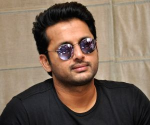 Nithiin during a interview