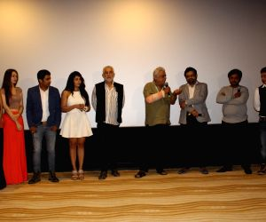 : Mumbai: Poster launch of film Project Marathwada