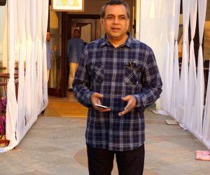 "Actor Paresh Rawal an interview regarding his upcoming film ""Uri: The Surgical Strike"" in Mumbai on Jan 7, 2019."
