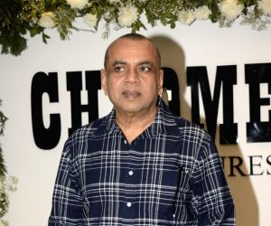 """Actor Paresh Rawal at Chrome Picture's15th anniversary and """"Badhaai Ho"""" success party in Mumbai on Jan. 19, 2019."""