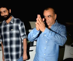 """Actor Paresh Rawal at the special screening of film """"Sanju"""", a biopic on actor Sanjay Dutt in Mumbai on June 28, 2018."""