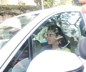 Celebs arrive to attend Priyanka, Nick's roka ceremony
