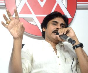 Pawan Kalyan Press Meet - stills