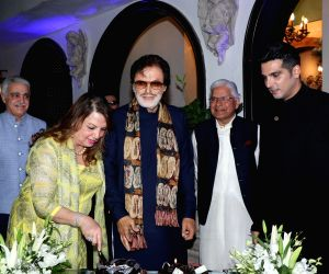 Sanjay Khan's birthday celebrations