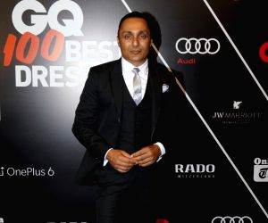 Actor Rahul Bose at the Red Carpet of GQ Best Dressed 2018, in Mumbai on May 26, 2018.