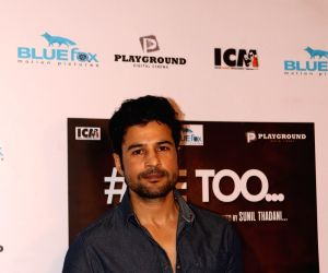 #Me too' special screening - Rajeev Khandelwal