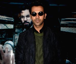 "Promotion of film ""Omerta"" - Rajkummar Rao"