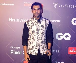 Van Heusen + GQ Fashion Nights 2017 - Rajkummar Rao