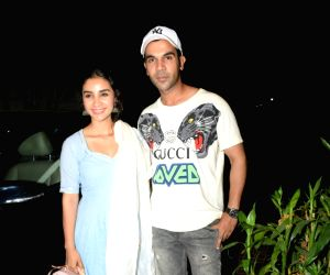 "Film ""India's Most Wanted"" screening - Rajkummar Rao, Patralekhaa"