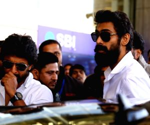 Actor Rana Daggubati arrives at Jaipur International Airport on Dec 28, 2018.