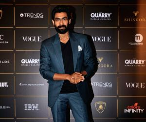 Actor Rana Daggubati at The Vogue Women Of The Year Awards 2018, in Mumbai on Oct 27, 2018.