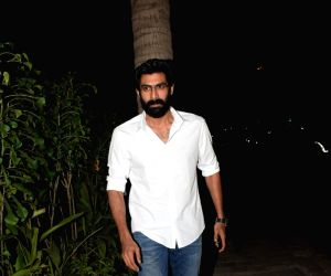 Actor Rana Daggubati during a programme in Mumbai on Nov 15, 2018.
