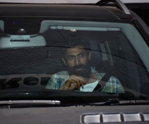 Actor Rana Daggubati seen outside filmmaker Karan Johar's house in Mumbai, on May 13, 2019.