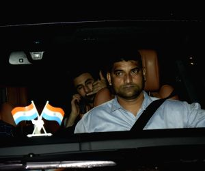"Actor Ranbir Kapoor at the special screening of his upcoming film ""Sanju"", a biopic on actor Sanjay Dutt in Mumbai on June 27, 2018."