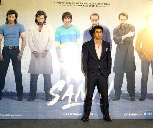 "Teaser launch of Sanjay Dutt's biopic ""Sanju"" - Ranbir Kapoor"