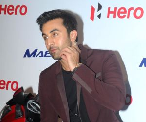 Ranbir Kapoor at Hero Motocorp's meet and greet event