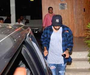 Actor Ranbir Kapoor seen at Mumbai's Bandra on Nov 9, 2018.