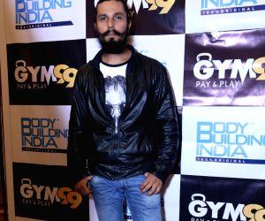 Randeep Hooda during launch of a gym