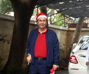 Annual Christmas brunch at Shashi Kapoor's Juhu home
