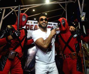 """Special screening of film """"Deadpool 2"""" - Ranveer Singh"""