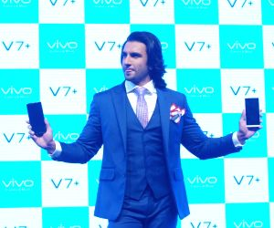Ranveer Singh during the launch of  Vivo V7+ Smartphone