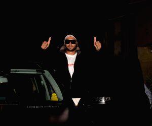Ranveer Singh seen at a dubbing studio