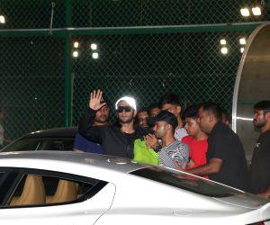 Ranveer Singh seen at St Andrews Bandra