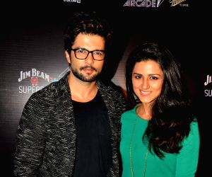 TV Celebs at Vh1 Supersonic launch party