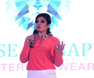 Raveena Tandon launches radiation safe maternity wear