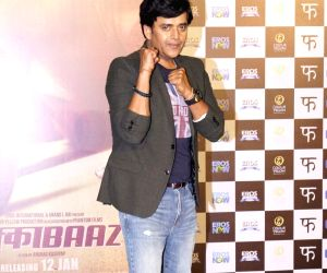 "Trailer launch of film ""Mukkabaaz"" - Ravi Kishan,"