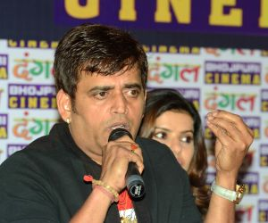 Ravi Kishan during a programme