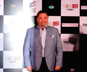 "Song launch of film ""102 Not Out"" - Rishi Kapoor"
