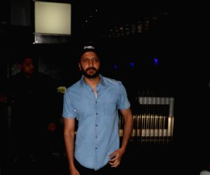 Riteish Deshmukh seen at restaurant