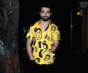 Ekta Kapoor's birthday party -  Nushrat Bharucha, Rithvik Dhanjani
