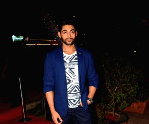 Ruslaan Mumtaz during the launch of a Salon and Spa