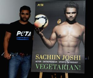 Sachin's newest vegetarian ad on People for the Ethical Treatment of Animals