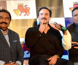 MCA launches Mumbai T20 League - Saif Ali Khan, Ashish Shelar
