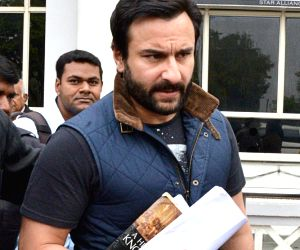 Saif Ali Khan arrives in Jodhpur