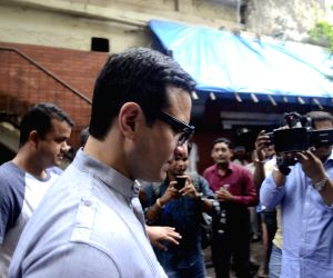 Saif Ali Khan before a Mumbai court