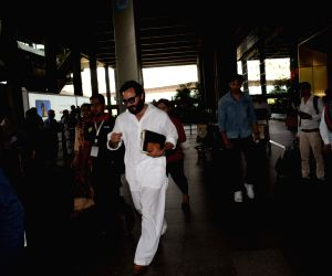Blackbuck poaching case - Saif Ali Khan returned to Mumbai