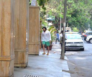Saif Ali Khan seen at Bandra