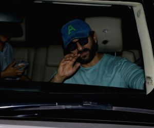 Saif Ali Khan spotted at Mumbai Airport