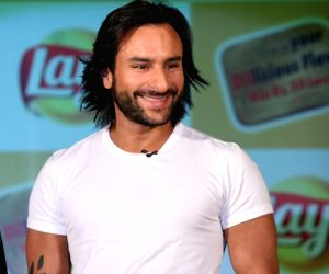 Actor Saif Ali Khan unveils Lays Chips new campaign