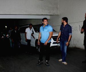 Salman Khan hosted special screening of film Bajrangi Bhaijaan