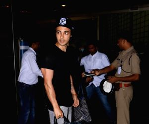 Aayush Sharma seen at airport