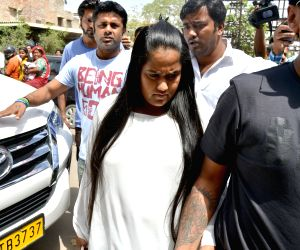 Black buck poaching case - Arpita Khan at Jodhpur Court