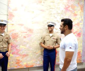 Salman Khan at US Consulate