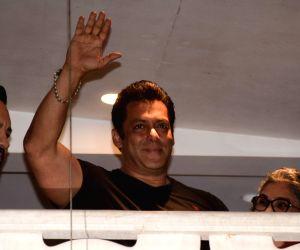 Salman at his residence