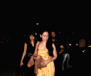 Manyata Dutt seen at a Mumbai restaurant